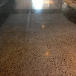 Polished concrete floors. Lakeside, MT