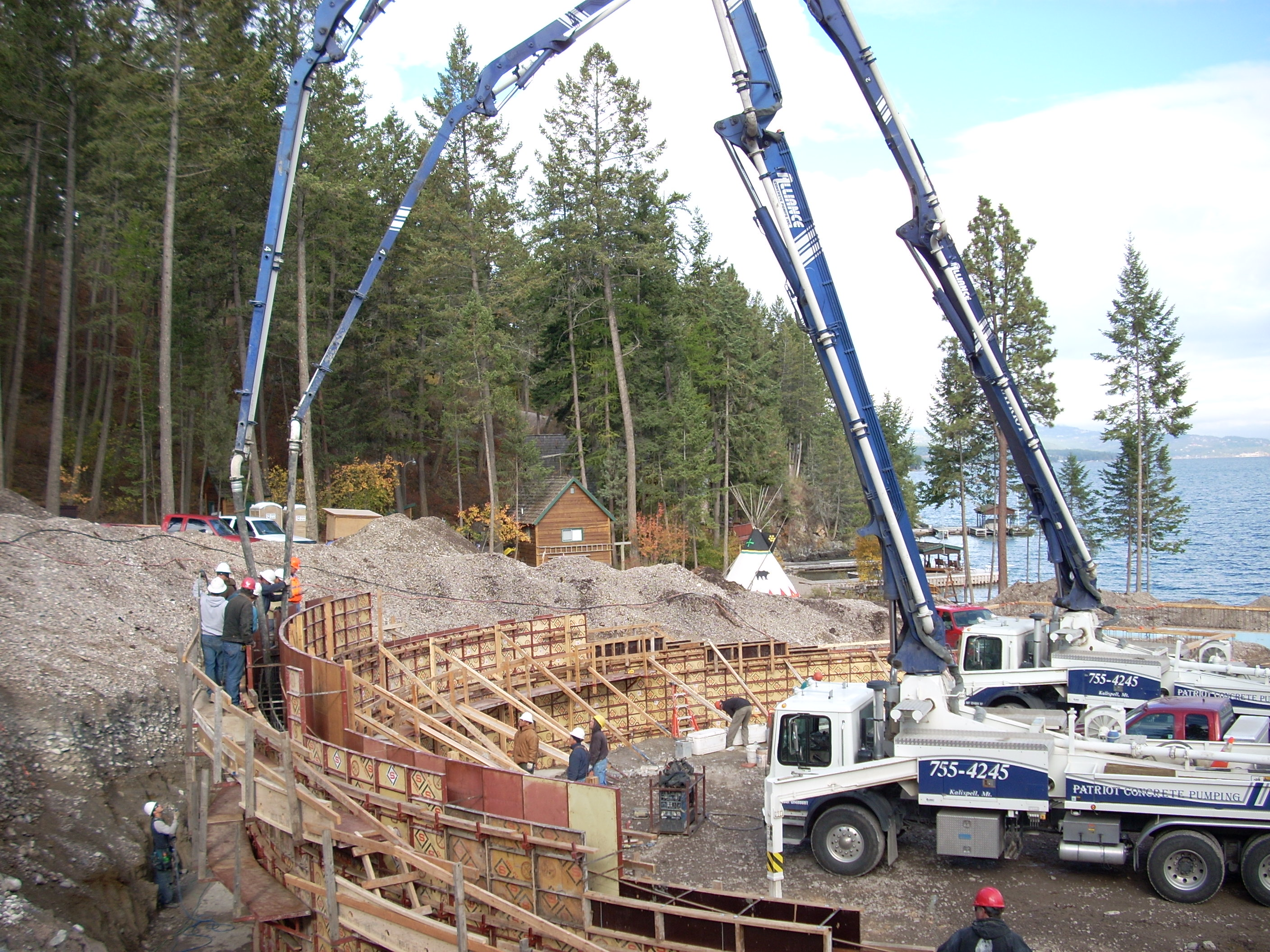 Nw concreteworks inc nw concreteworks kalispell montana for Nw construction
