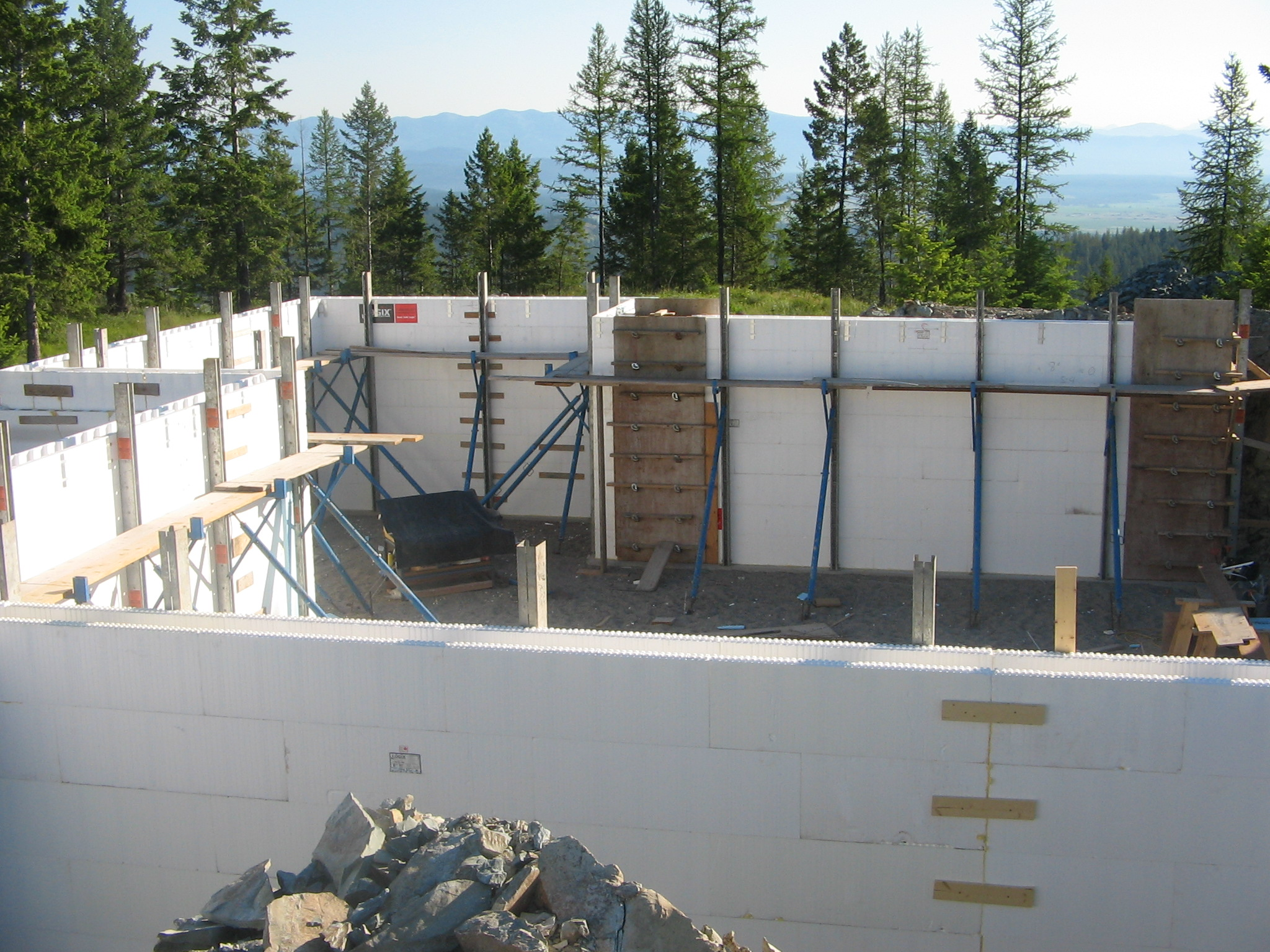 Fall weather concrete in Kalispell Montana – NW